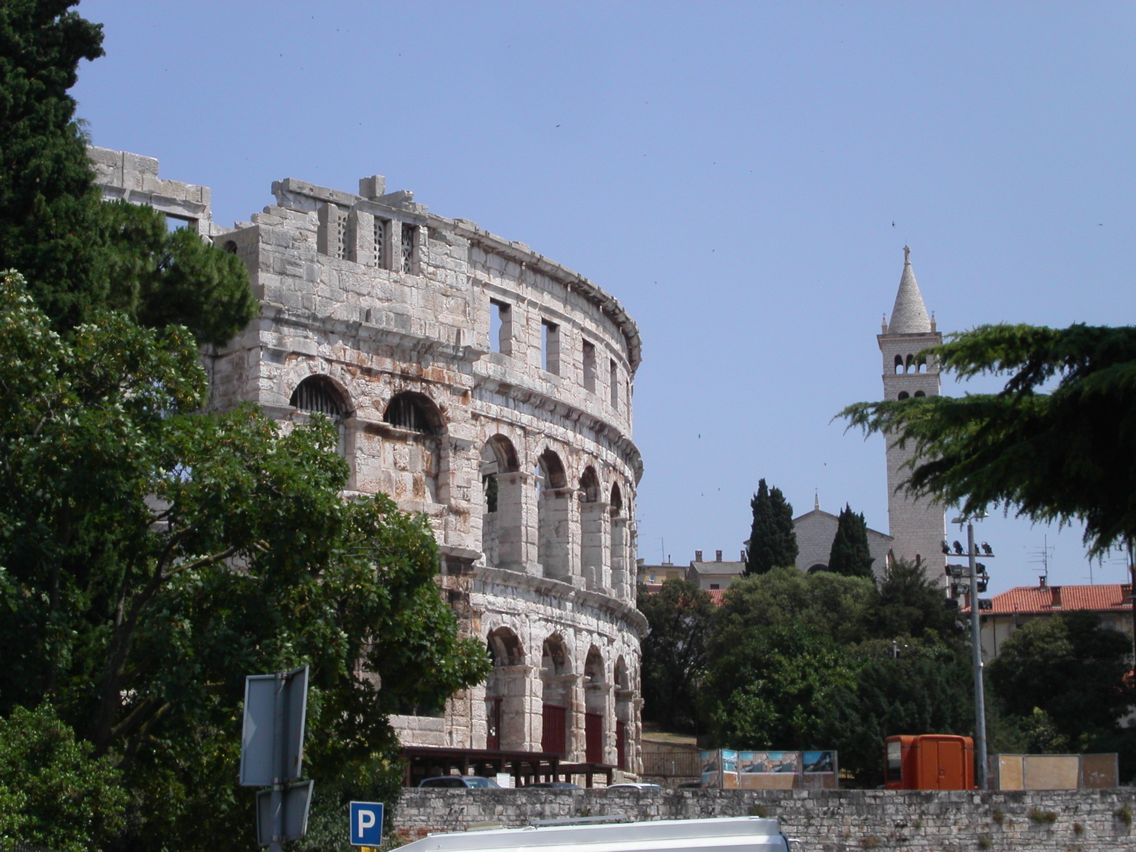 Amphitheater Arena in Pula
