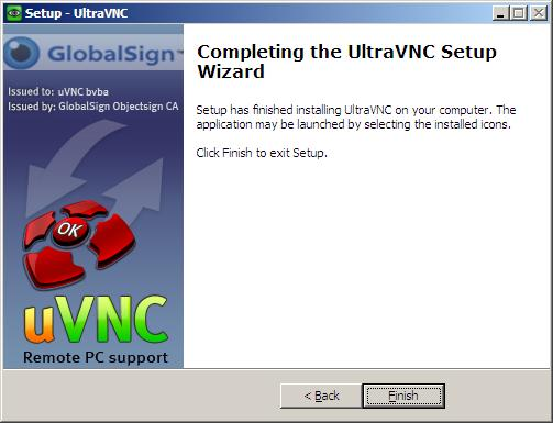 How to install UltraVNC